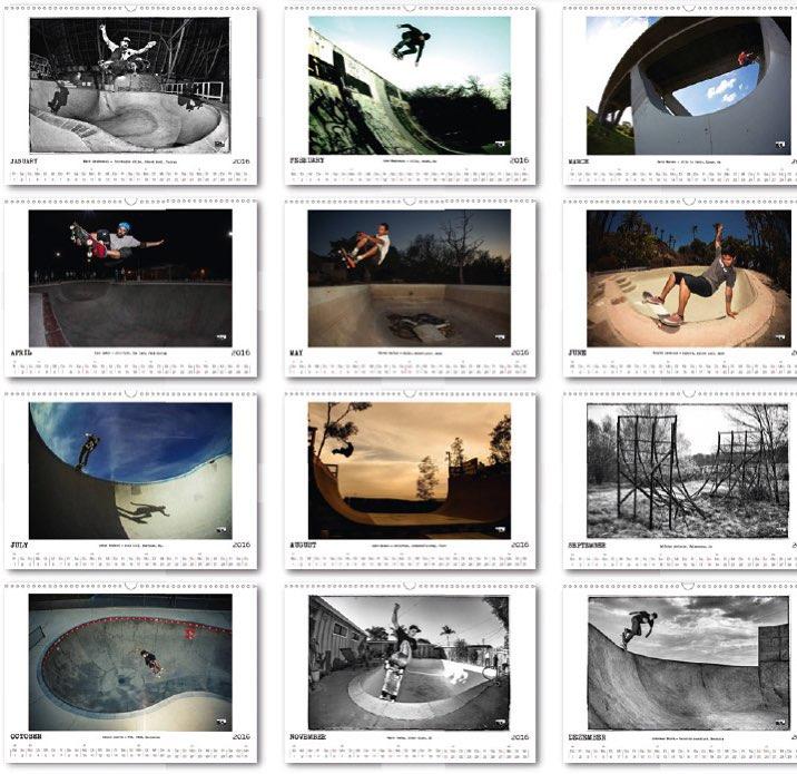 Bailgun calendar 2016 with 12 rad  shots. More info here: www.bailgun.com #Bailgun #Calendar