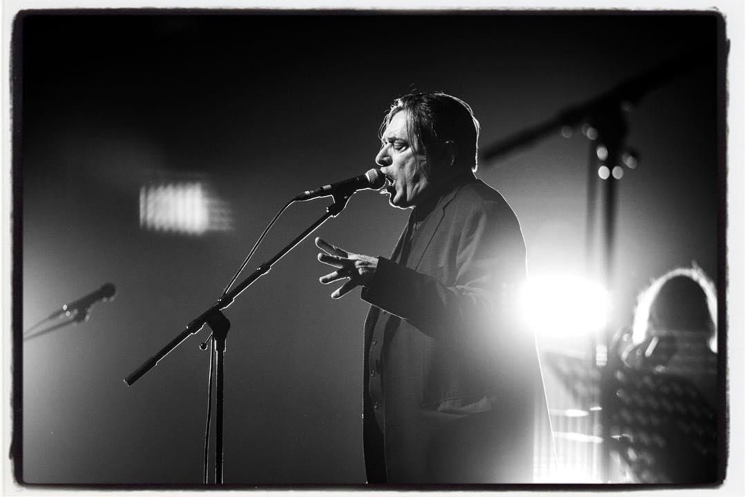 Great gig of Einstürzende Neubauten at the Osnabrück Halle yesterday. #einstürzendeneubauten #blixabargeld #osnabrückhalle #concert #gig #live #music @einstuerzendeneubauten #bailgun #bierenergie #gerdrieger.com