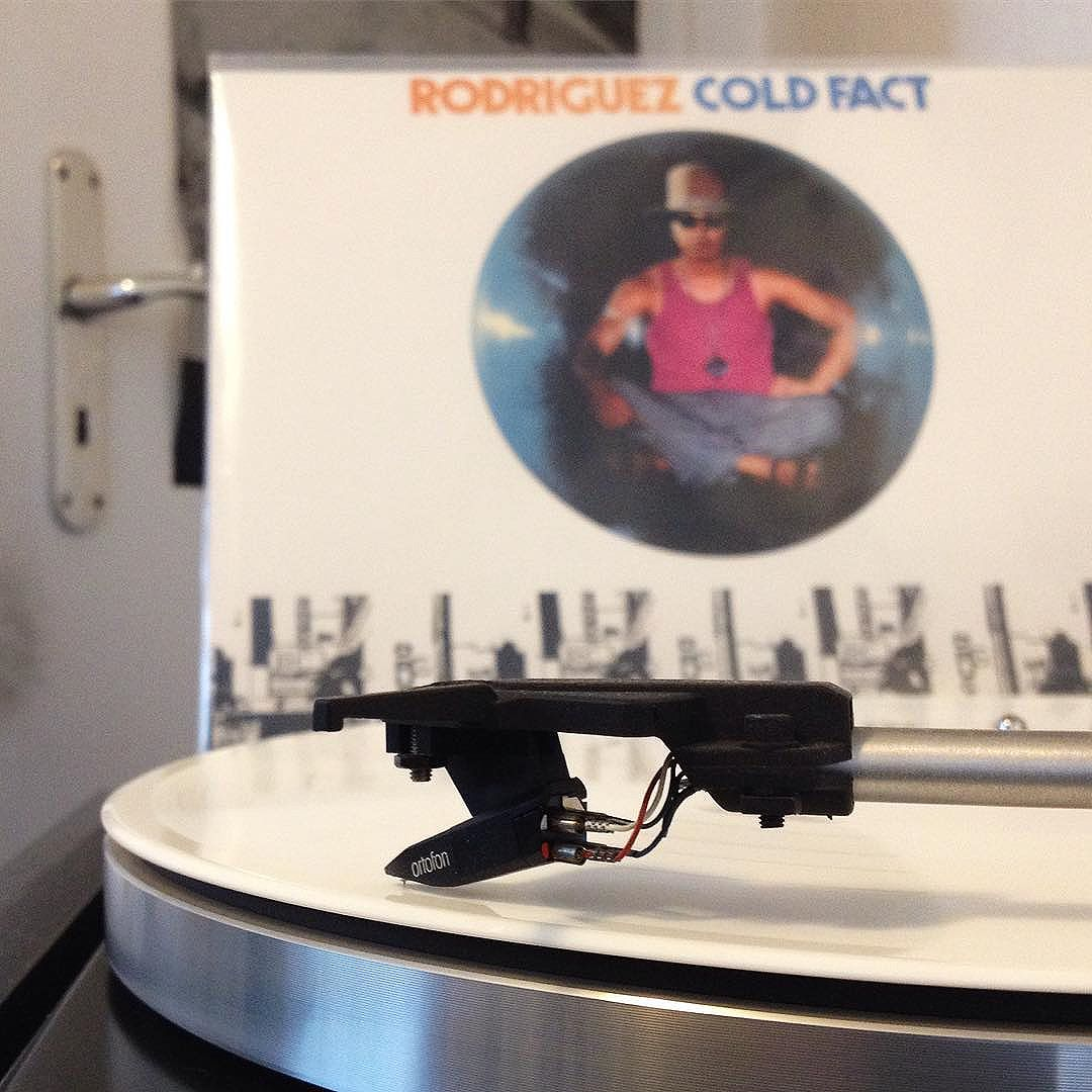 Playing on heavy rotation right now. #sixto #rodriguez #coldfact #vinyl #LP #record #analog #dual #505-3 #bailgun