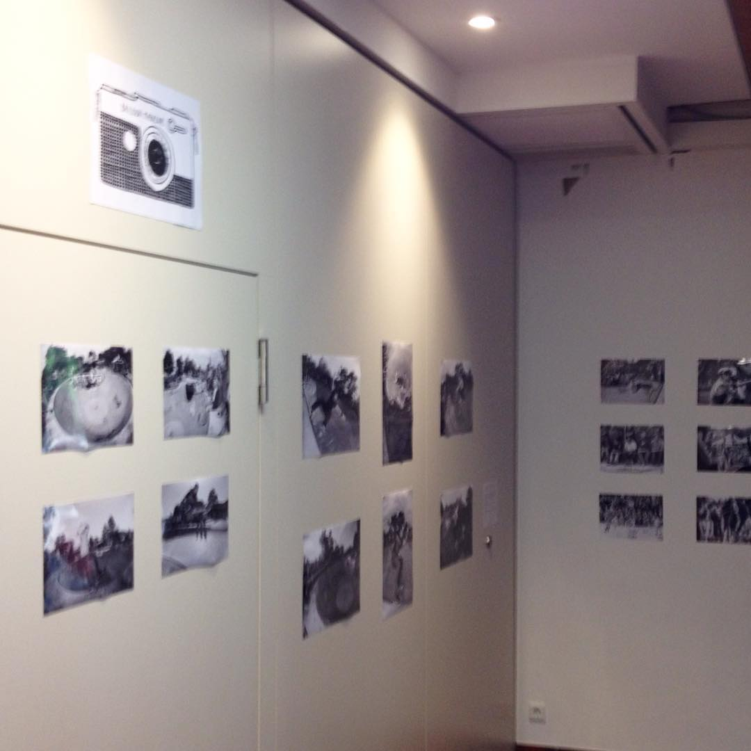 Check out the Bailgun BERGFEST photoexhibition at the Bergfest today. Photos from the first Bergfest 2009 till 2016. #bailgun #bergfest #photoexhibit #bergfidel #lorenzsüd #monsterbowl