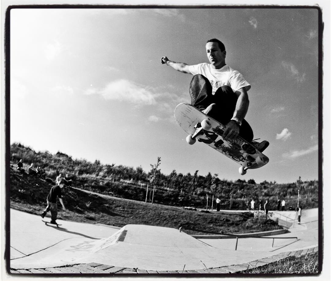 #throwbackthursday Alex Bonk FSA Transfer with speed and style at Billerbeck skatepark several years ago. Shot with a Pentax 6x7. #skateboarding #concrete #transition #billerbeck #skatepark  ##mediumformat #120 #film #analog #ilford #hp5 #pentax67 #bailgun #gerdriegerphotography @alexanderbonk