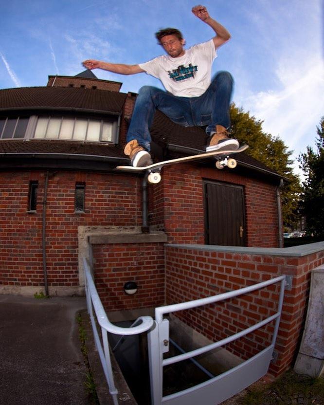 #throwbackthursday with Krasse an ollie. #ollie #skateboarding #street #krasse #danielkrassowski #bailgun #gerdriegerphotography