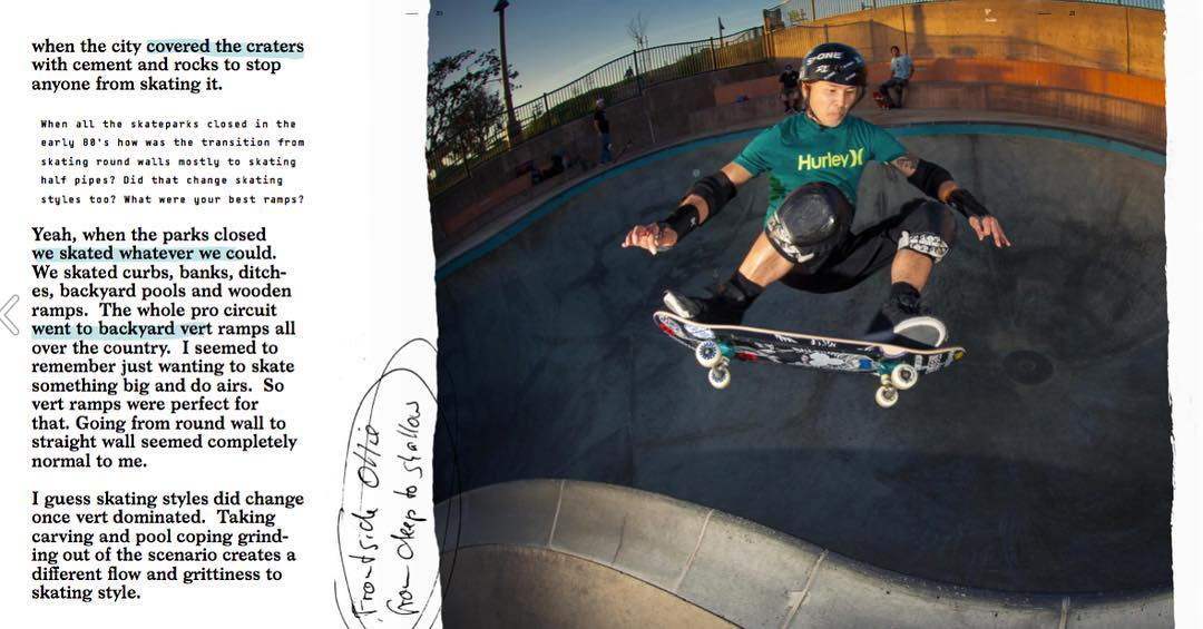 Bailgun Mag issue #23 online now. Check out the Lester Kasai interview. http://bailgun.com/2018/01/issue-23/ Lester seen here with a frontside ollie over the hip at Poods Park im Encinitas. Layout and design of issue 23 by @robertrieger #bailgun #magazine #zine #skateboarding #lesterkasai #interview #ollie #pool #bowl #concrete #gerdriegerphotography