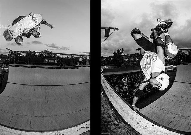 #flashbackfriday from Ramona, with Auby Taylor blasting Indy and a proper Smith vert. More photos on the Bailgun website. #skateboading #rumbleinramona #rumbleinramona2018 #rumbleinramona8 #aubytaylor #indyair #gunnair #handplant #halfpipe #vert #keepvertdead #bailgun #magazine #gerdriegerphotography