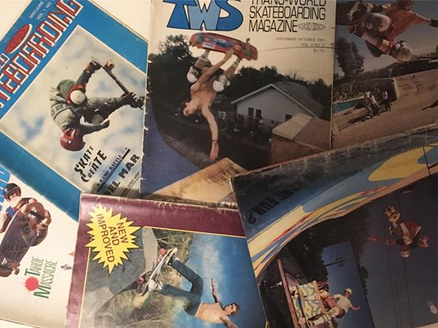Another print mag is gone… when was the last time you bought a print mag? The last mag I got was @same0ld not too long ago, but can't remember the last TWS I bought… Stoked to still have some of the early issues, including no. 1, May 1983. #tws #transworldskateboarding  #print #magazine #printisnotdead #bailgun