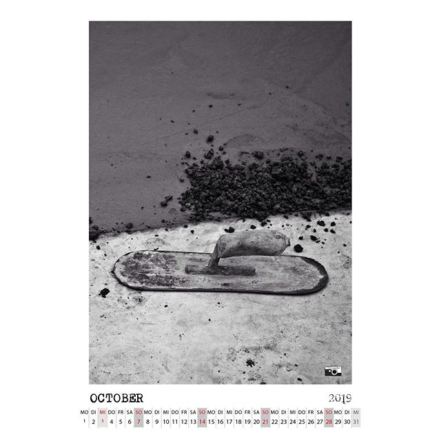 October is here. You can download the calendar page on the homepage > bailgun.com/media/calendar #concrete #pool #bowl #monsterbowl #bergfidel #minusramps #calendar #2019 #bailgun #magazine #gerdriegerphotography